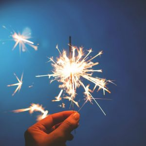 Fire work image